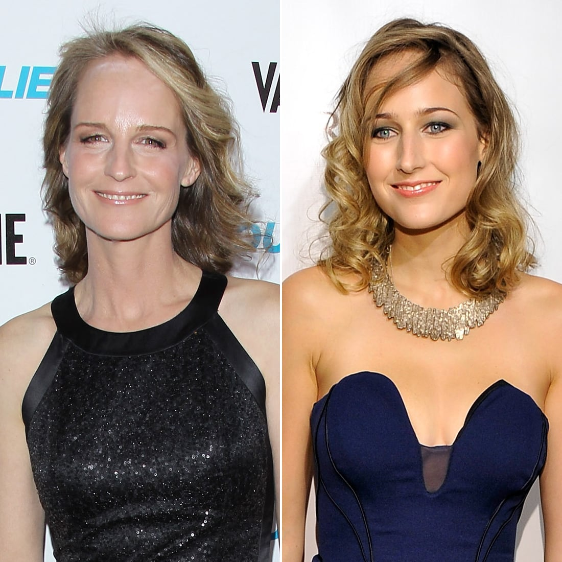 Is bonnie hunt related to helen hunt
