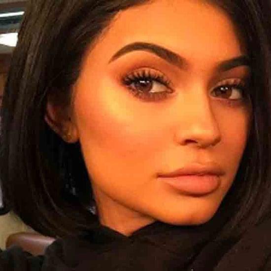 Kylie Jenner's Black Metal Matte Lipstick