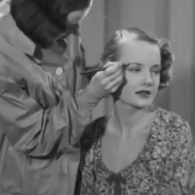 Vintage Makeup Video From the 1930s