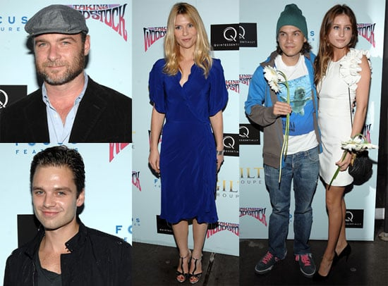 Photos of Liev Schreiber, Anna Wintour, Claire Danes, Emile Hirsch, and Sebastian Stan at the Premiere of Taking Woodstock