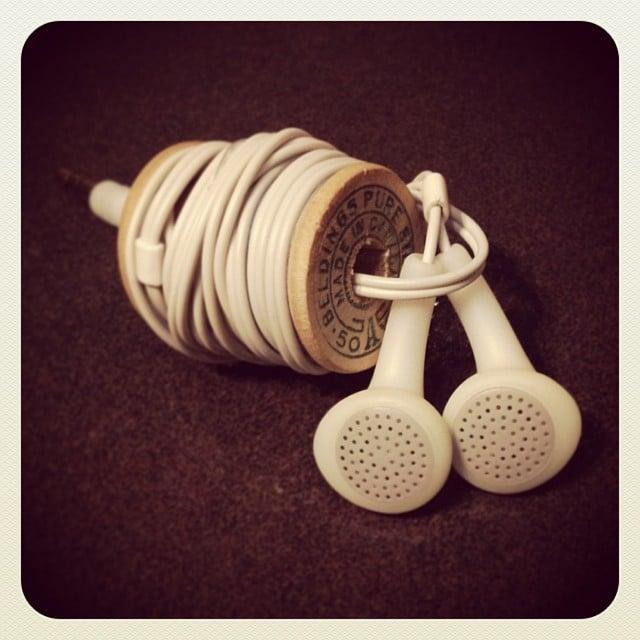 Make Your Own Earphone Holder