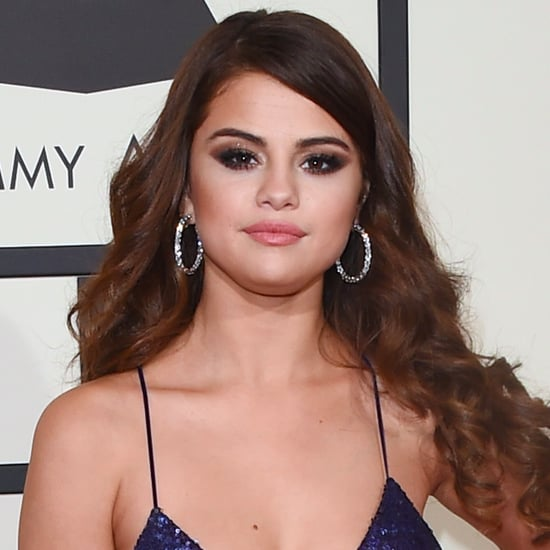 Selena Gomez's Hair and Makeup at the 2016 Grammy Awards