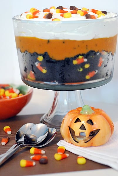 Black Velvet Halloween Trifle