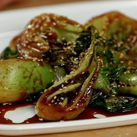 Sesame Bok Choy Recipe Video