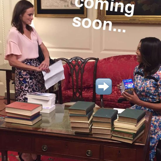 Michelle Obama's Floral Dress on Snapchat June 2016