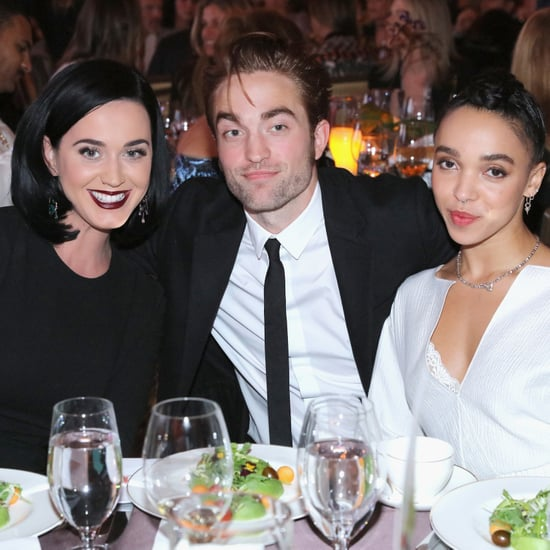 Robert Pattinson and FKA Twigs With Katy Perry in LA