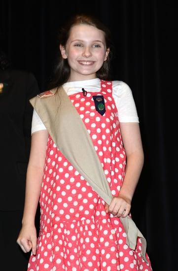 Abigail Breslin as a Girl Scout
