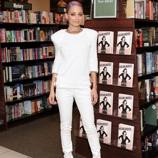 Nicole Richie White Jeans and White Shirt Outfit