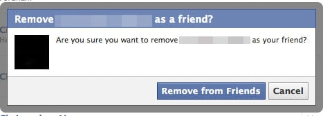 Participating in National Unfriend Day