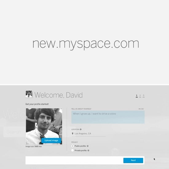 New and Improved Myspace