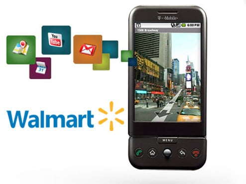 Get T-Mobile's G1 Handset at Walmart!