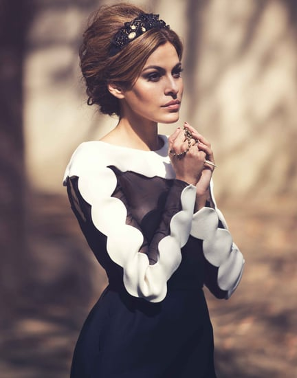 Eva Mendes Net-A-Porter Cover | Pictures