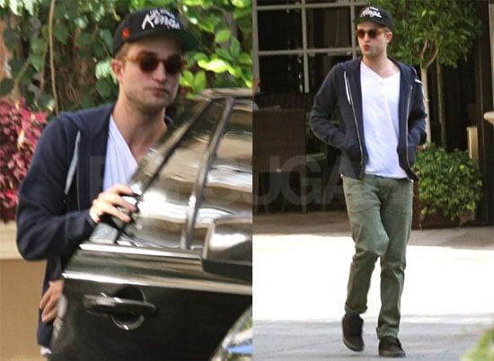 Pictures of Robert Pattinson Before Eclipse Junket Weekend