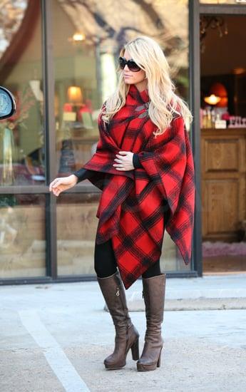 Jessica Simpson Shopping in Dallas