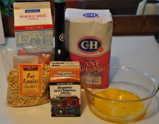 Olive Oil Pine Nut Ice Cream 2009-07-07 16:37:11