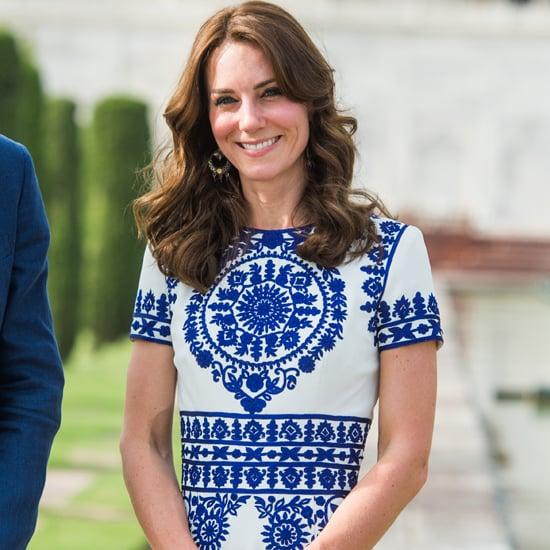 Who Designed Kate Middleton's Taj Mahal Dress?
