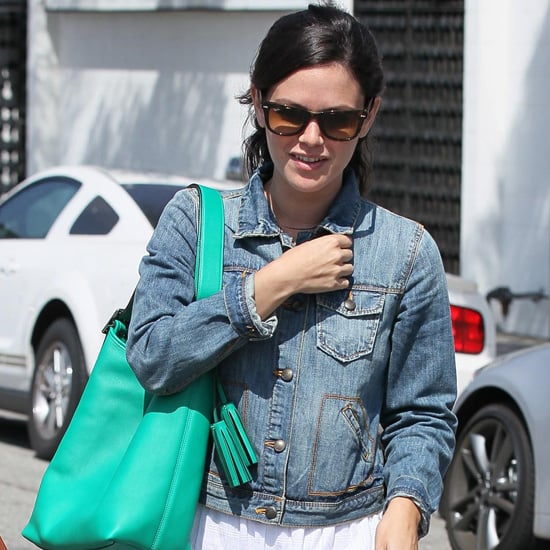 Celebrities in Denim Jackets