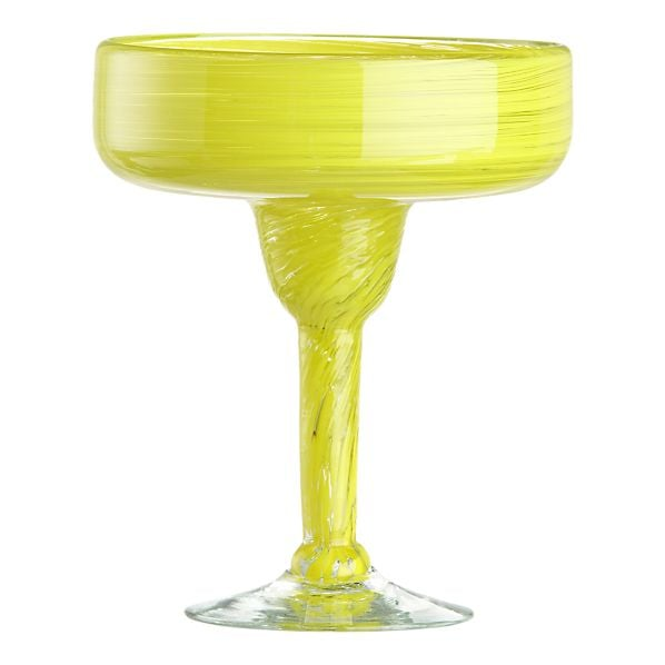 Serve up some salty margaritas in this punchy yellow Zest Margarita Glass ($9).