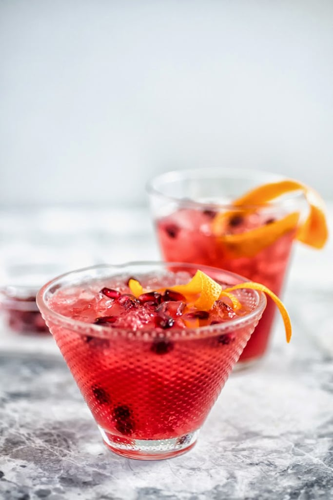 Pomegranate-Campari Bourbon Cocktail