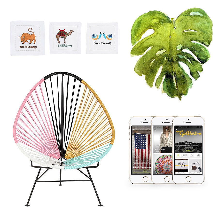 The POPSUGAR Home editors have hunted down everything from the perfect pastel-hued Acapulco chair (on sale!) to a beach towel inspired by one of our favorite blankets. If you're ready to welcome the dog days of Summer, you'll want to get started with this incredible shopping list!