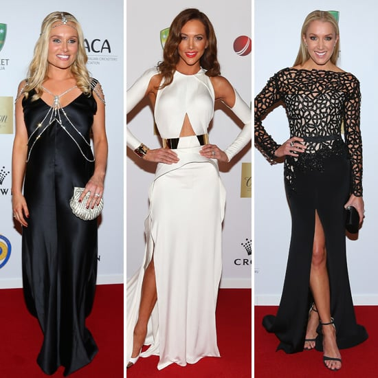 All the Cricket Stars and WAGs on the Allan Border Medal Red Carpet