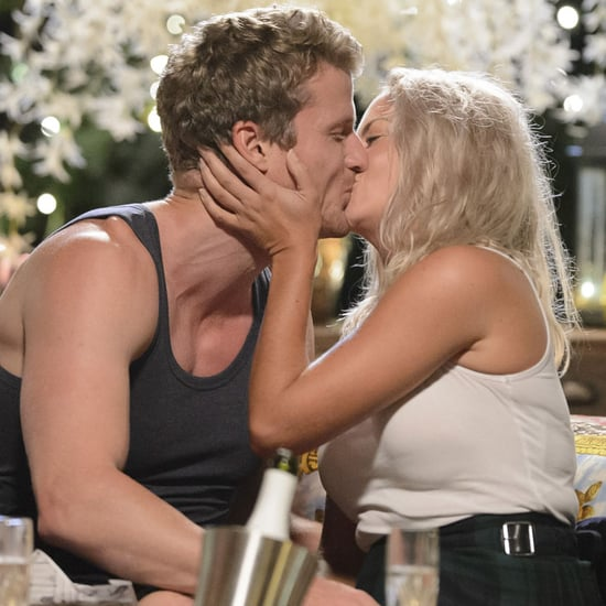 Nikki Gogan and Richie Strahan Secret Kiss on The Bachelor