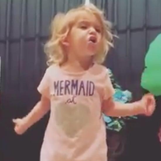 Video of Little Girl Singing the Alphabet