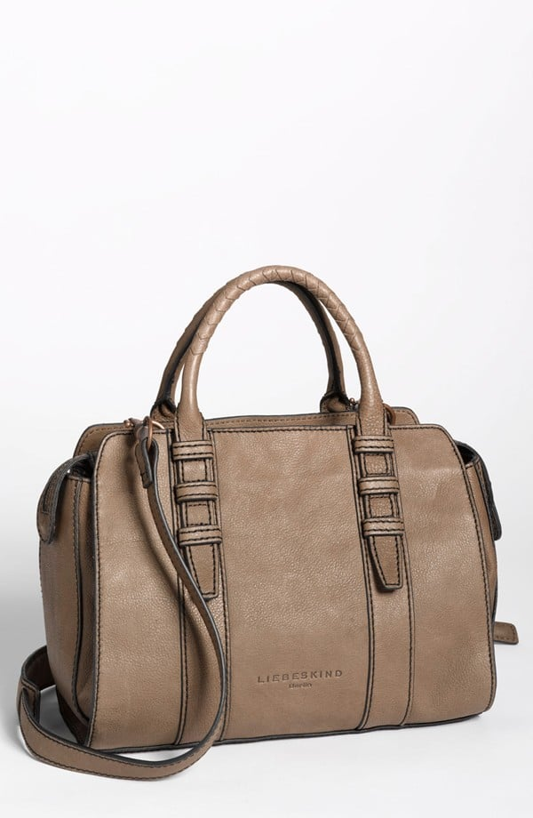Try a demure satchel like this Liebskind style ($166, originally $248) for day-to-day use.