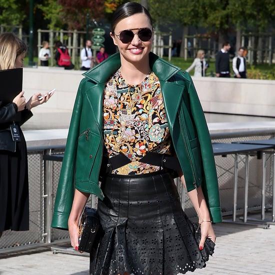 Miranda Kerr Street Style at Fashion Week Spring 2016
