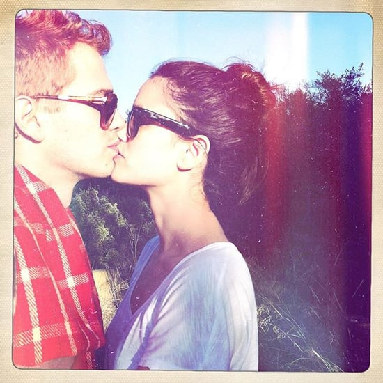 Rachel Bilson Hayden Christensen Kissing Photo July 2015