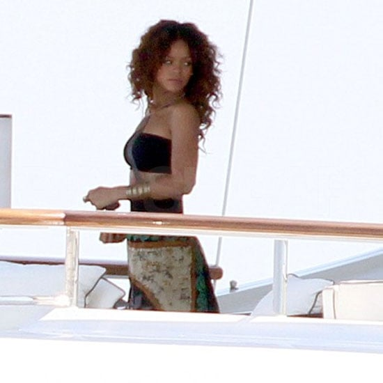 Rihanna Pictures at V Festival,Yachting Off South of France