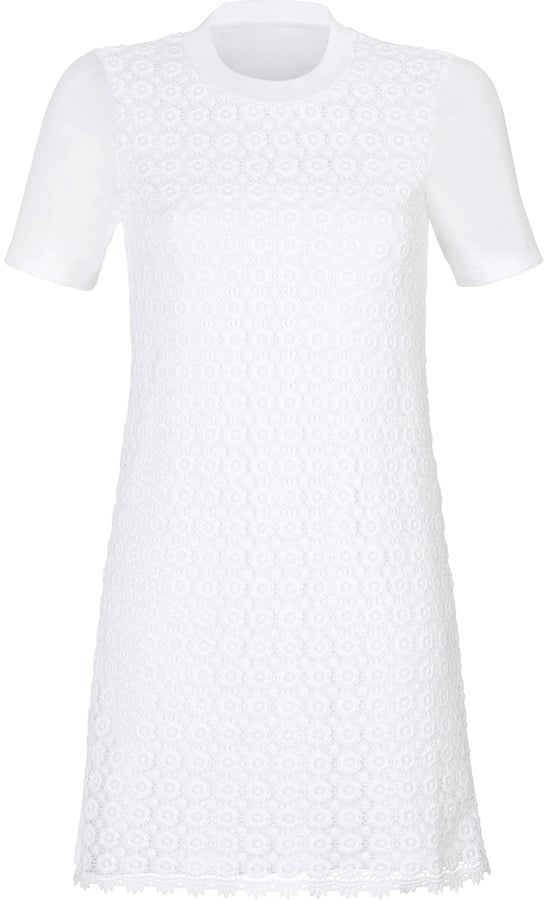 See by Chloé White Lace Dress