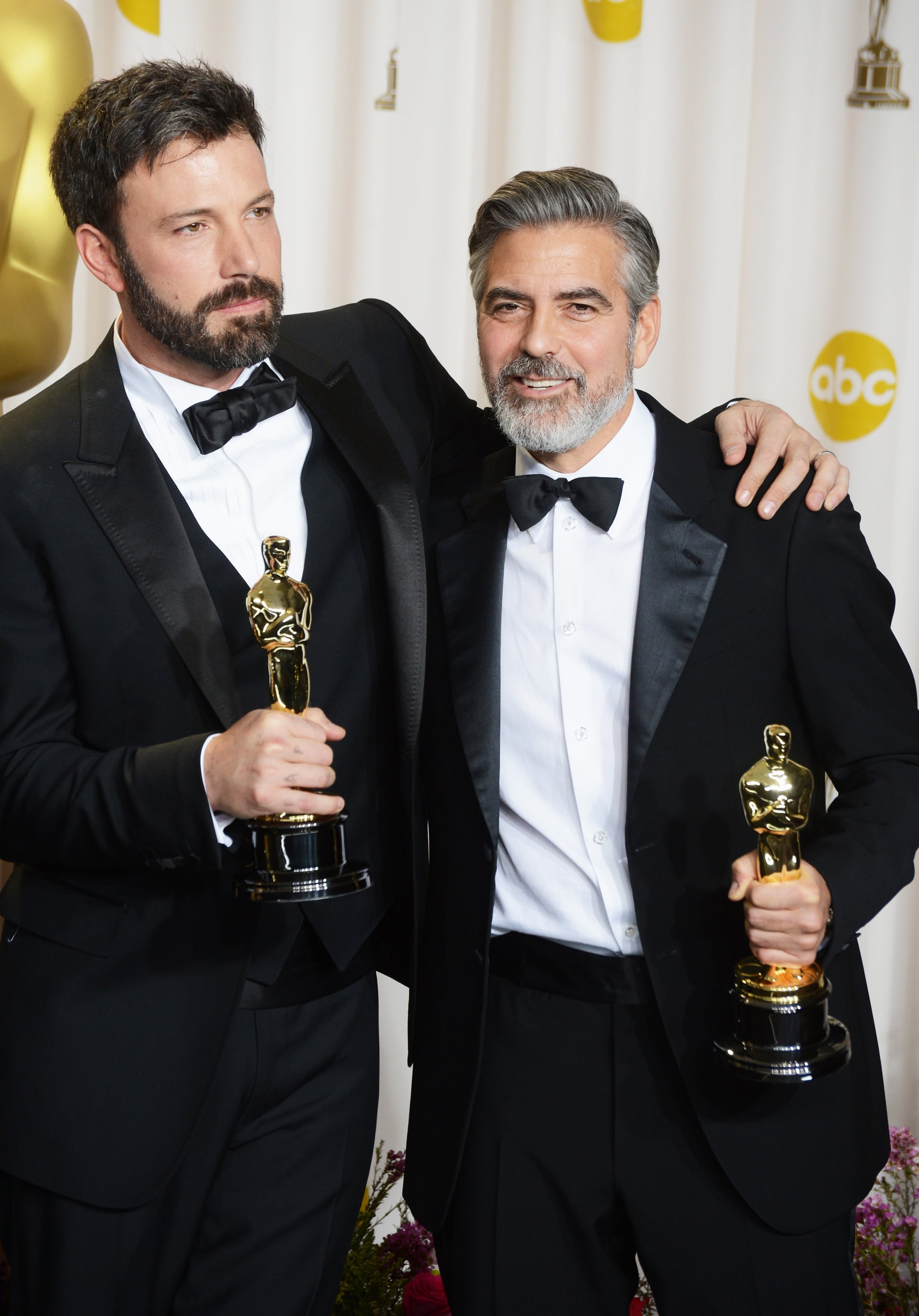 George Clooney at the 2013 Academy Awards