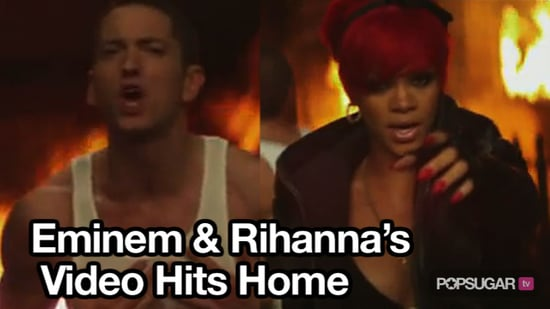 """Eminem and Rihanna Debut Music Video For """"Love the Way You Lie"""""""
