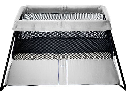 baby bjorn travel crib light 100 baby products we couldn 39 t live. Black Bedroom Furniture Sets. Home Design Ideas