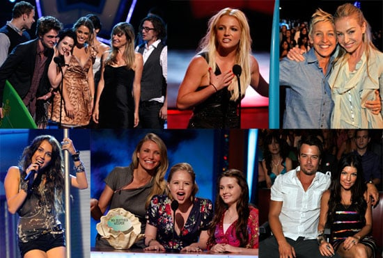 Photos and Review of Teen Choice Awards, Twilight Cast, Britney Spears, Miley Cyrus, Gossip Girl Cast