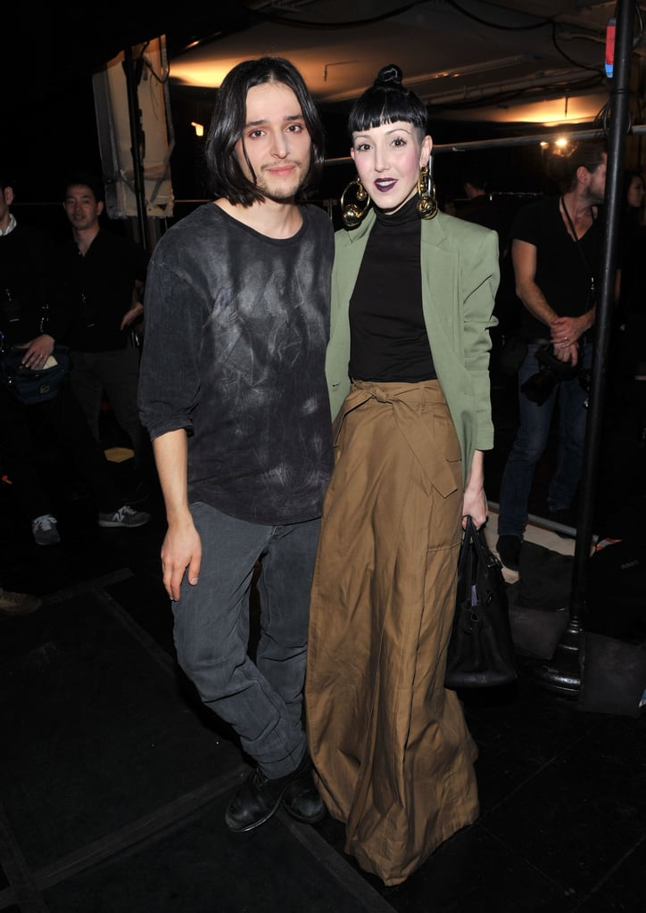 Olivier Theyskens and Michelle Harper