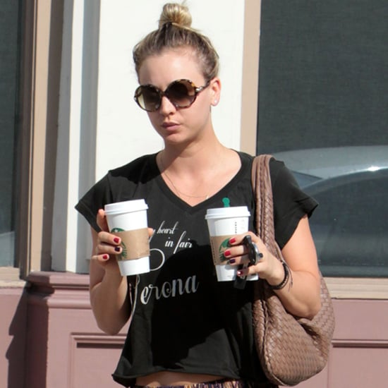 Kaley Cuoco Coffee Date Style With Henry Cavill