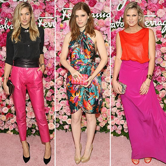 Celebrities Celebrate Ferragamo's Signorina Fragrance in Style: Jessica Hart, Kate Mara, Emma Watson & more