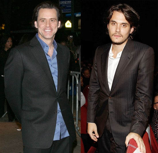 Pictures of Jim Carrey and John Mayer at the NYC Screening of I Love You Phillip Morris 2010-11-23 16:30:00