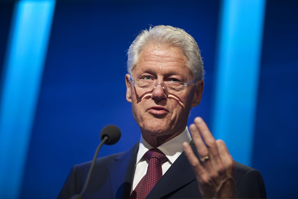 Former President Bill Clinton spoke during the opening session.