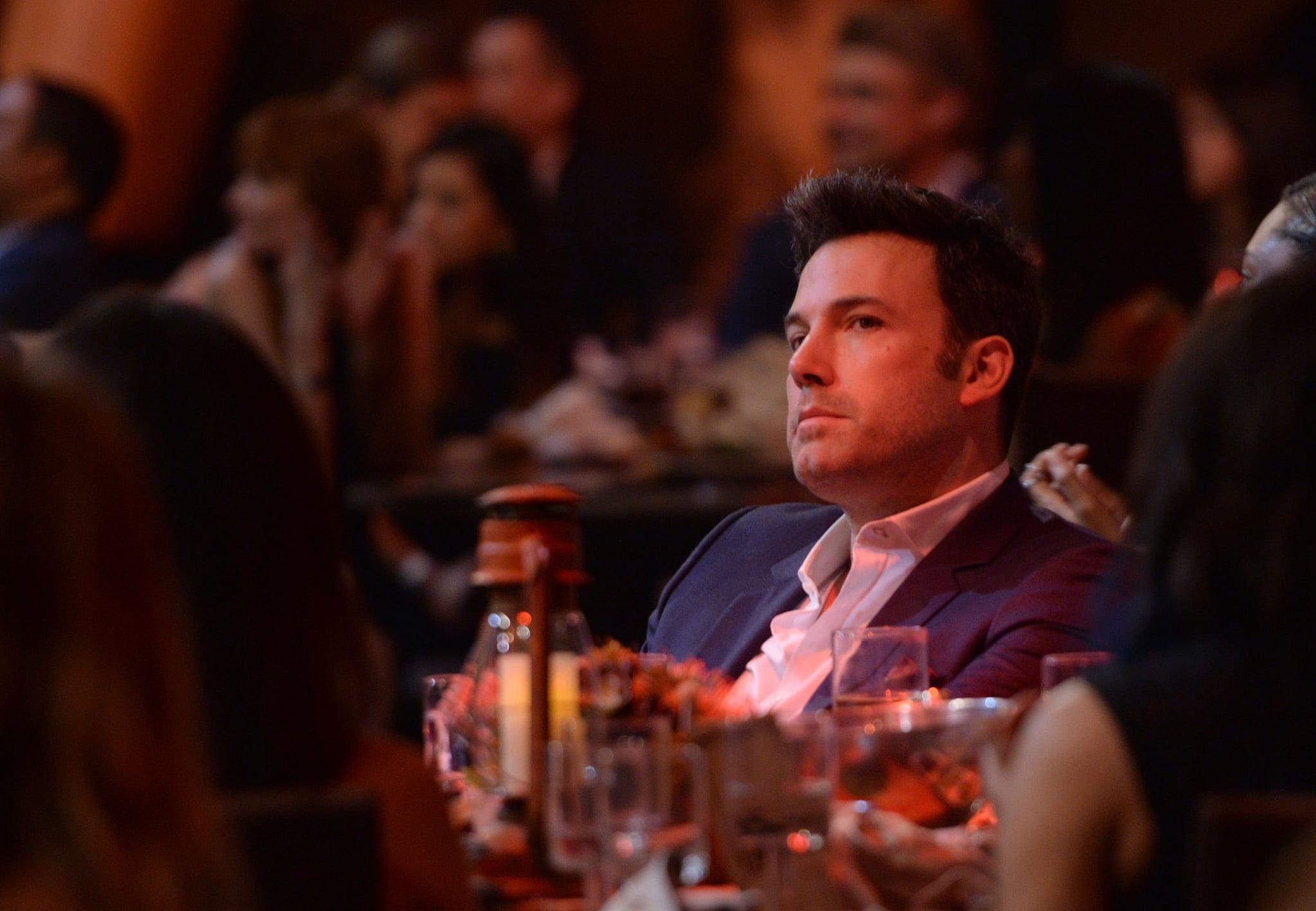 Ben Affleck sat in the audience at the Guys Choice Awards in LA.