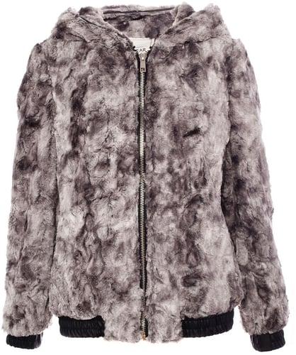Jacket With Fur Detail On Hood