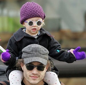 Matilda Ledger Can Remember Her Dad Heath