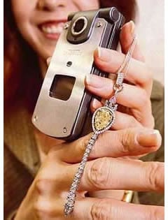 Cell Phone Bling Worth $850,000