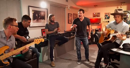 Nick Lachey Is The New Dave Grohl In Foo Fighters Breakup Spoof