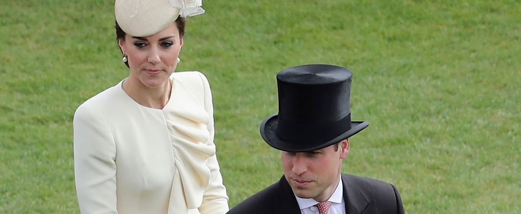 The Duke and Duchess of Cambridge Make a Lovely Appearance at the Queen's Garden Party