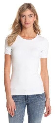 Karen Kane Women's Stretch Rib Short Sleeve T-Shirt