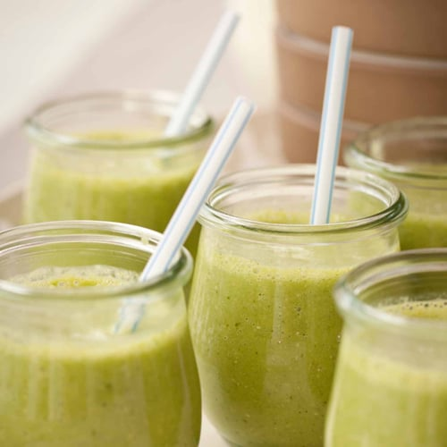 Green Morning Smoothies