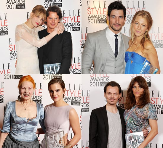 Winners of the Elle Style Awards 2011